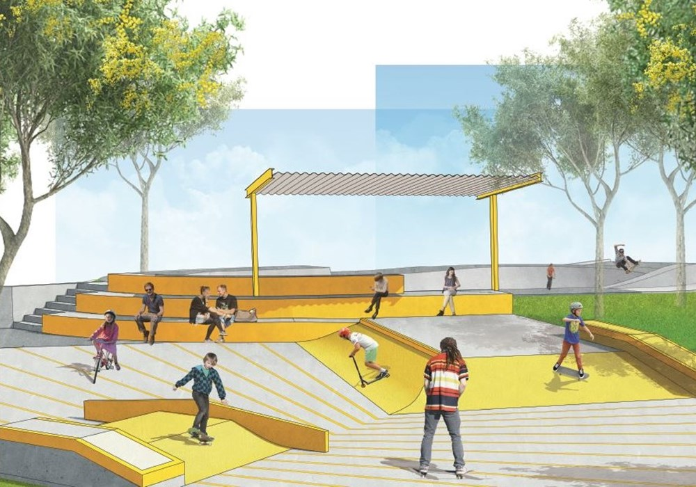 Laurimar Skate Park extension