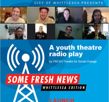 Live tonight! Fresh Local Theatre youth radio play
